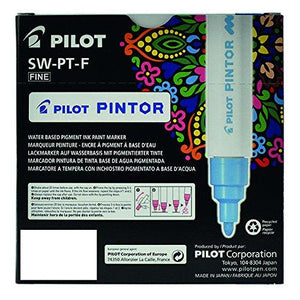 Pilot Pintor Classic set - Wallet of 6 - Water based pigment ink paint marker