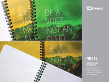 Load image into Gallery viewer, SM Products NB012 Notebook