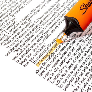 Sharpie Clear View Fluorescent Highlighter