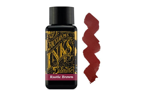 Diamine Rustic Brown 30ml - BDpens