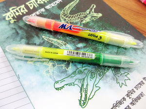 Pilot Spotliter VW Double Sided Highlighter - 3pcs pack - BDpens