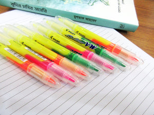 Pilot Spotliter VW Double Sided Highlighter - 3pcs pack