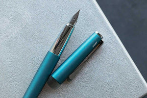 LAMY Studio Fountain Pen - Aquamarine (2019 Special Edition) Fine nib - BDpens