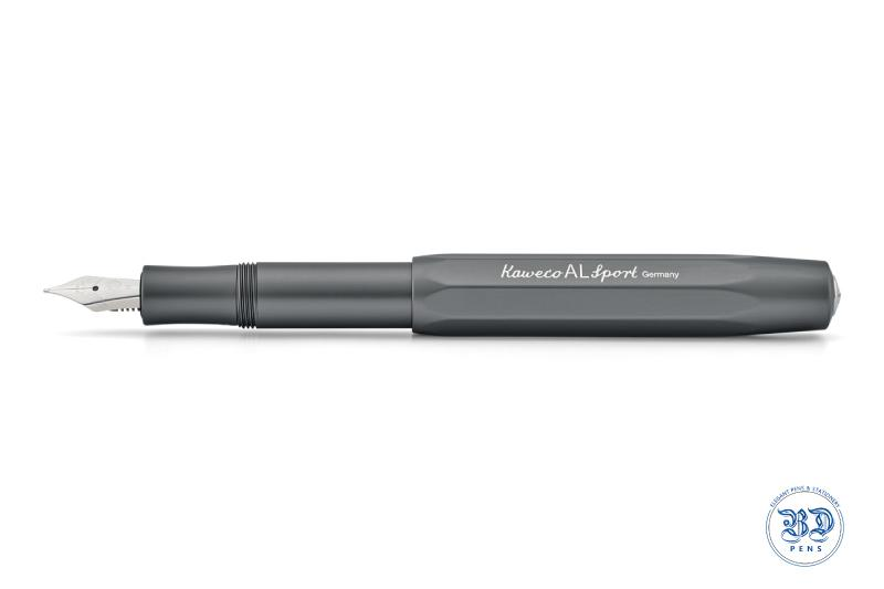 Kaweco AL Sport Fountain Pen Anthracite/Grey M nib - BDpens