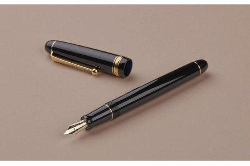 Pilot Custom 74 Fountain Pen - Black - BDpens