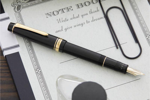 Pilot Justus 95 Fountain Pen - Black - BDpens