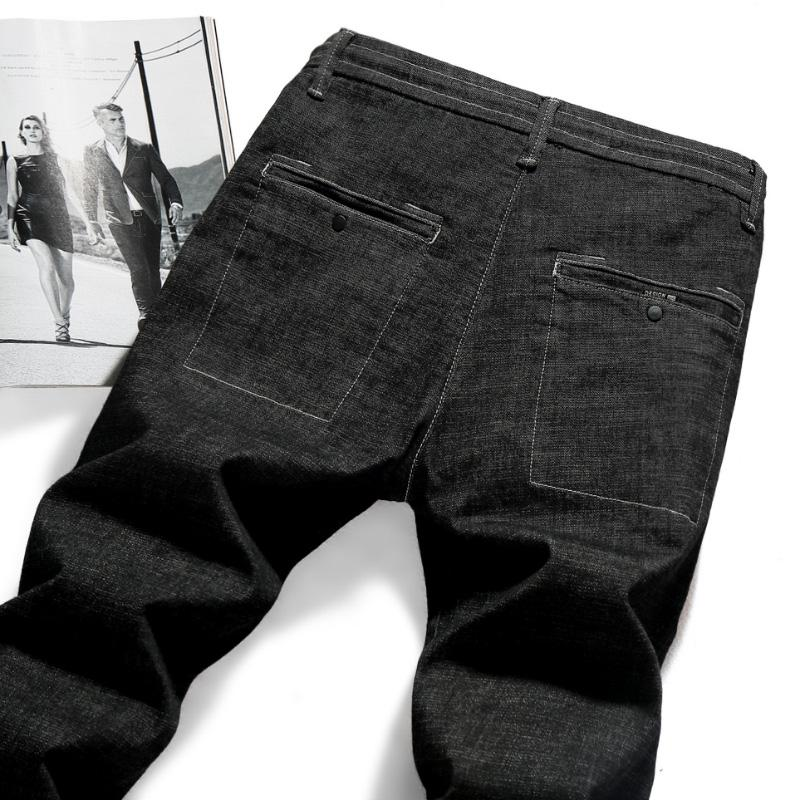 Summer Men Jeans Slim Pants Pants