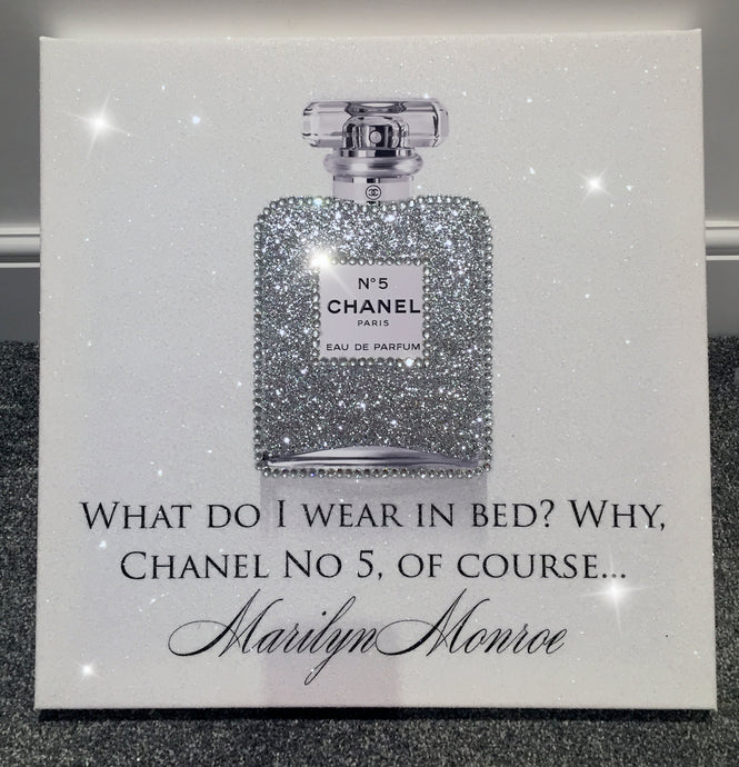 Chanel No 5 Marilyn Quote
