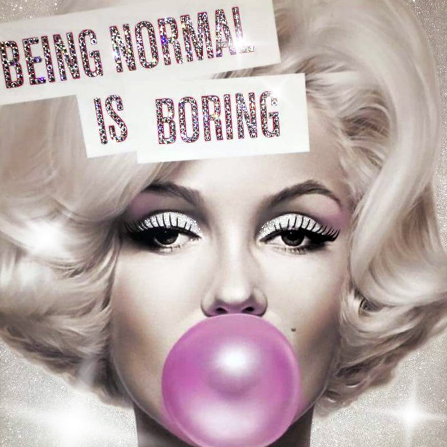Marilyn Being Normal Is Boring