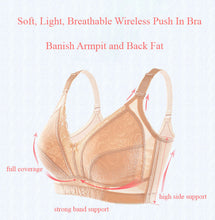 Load image into Gallery viewer, Light Breathable Push In Wireless Bra 9