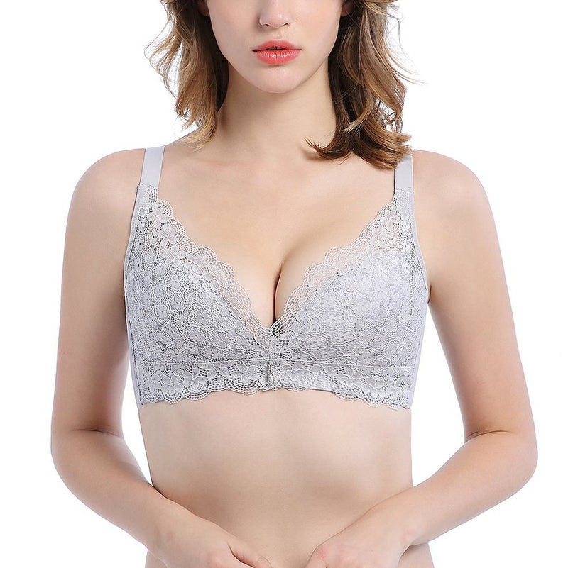 No Underarm Bulge Super Soft Push In Wireless Bra 3