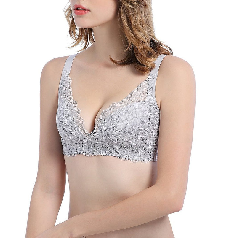 No Underarm Bulge Super Soft Push In Wireless Bra 6