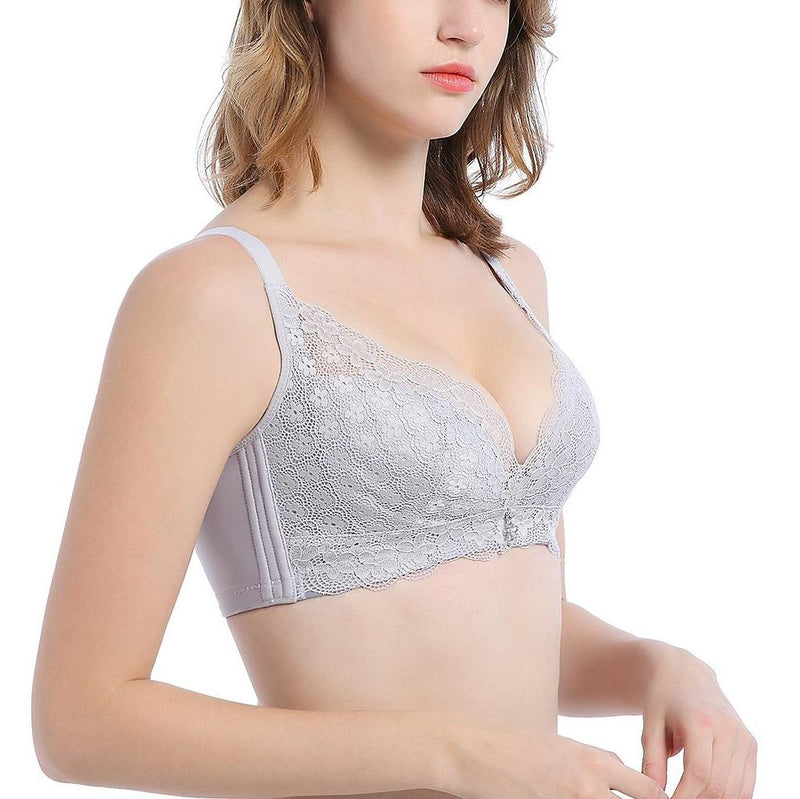 No Underarm Bulge Super Soft Push In Wireless Bra 5