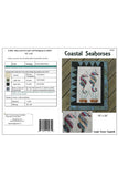 Pattern cover for Appliqued Seahorse quilted wall hanging pattern