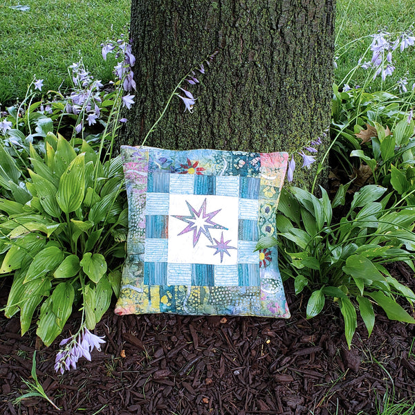 Pillow with Eight Point Star