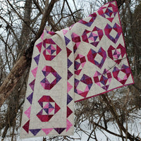 Heart Baby Quilt and table runner
