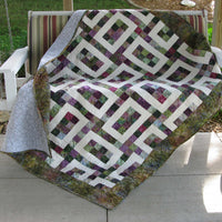 Hopscotch quilt pattern is a great way to use jelly rolls