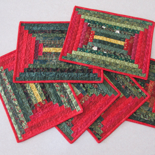 Log Cabin placemats