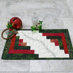 Christmas Log Cabin mini Table Runners