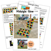 Midnight Glow quilt pattern