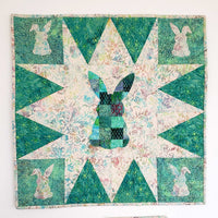 Patchwork Rabbit Wall Hanging