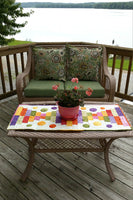 Piano Keys is a beautiful quilted tablerunner pattern