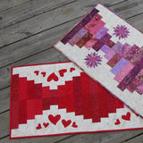 Piano Keys quilt tablerunner