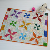 Pinwheel Baby Quilt or Table Topper