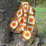 Golden Sunset Quilt pattern come with full color diagrams