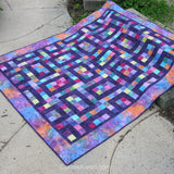 Hopscotch quilt pattern very easy to make using squares