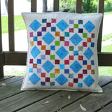Scrappy Batik Quilt pillow