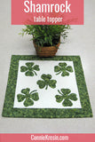 Irish Shamrock table topper tutorial