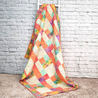 Sorbet is a fast and easy quilt pattern to make