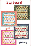 Starboard is an easy to make quilt using just one simple block
