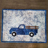 Truck placemat