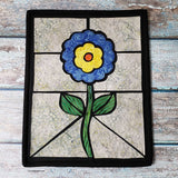 Quilted Stained Glass Flower