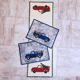 Vintage Truck placemats and runner