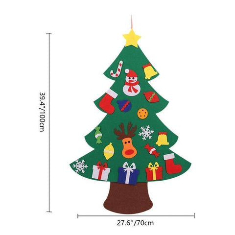 Image of Mintway DIY Felt Kids Christmas Tree