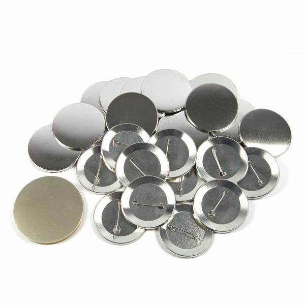 1000 No 25mm G SERIES BUTTON PIN BADGE COMPONENTS 1 INCH MACHINE