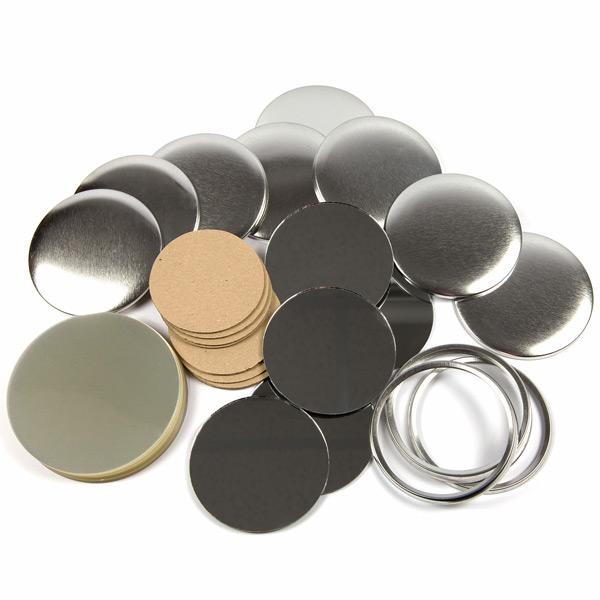 G Series 59mm Pocket Mirror Button Components 100 No 59mm Mirror Components