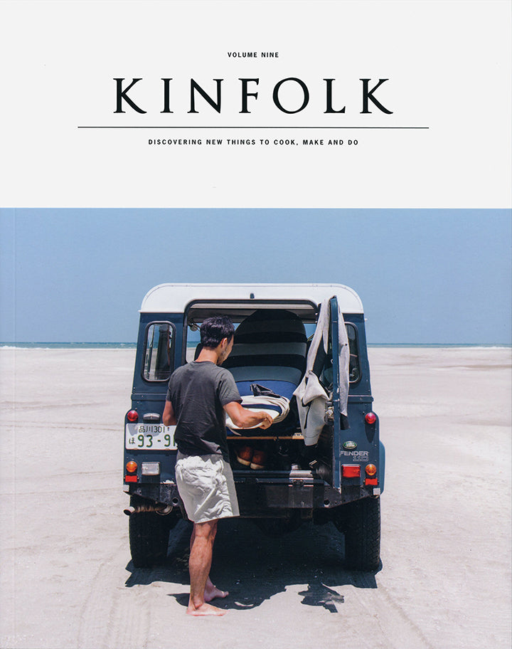 Kinfolk Vol. 9 Cover