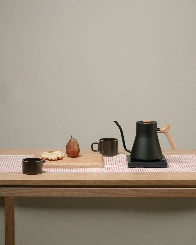 Fellow EKG Electric Kettle with Maple Handle