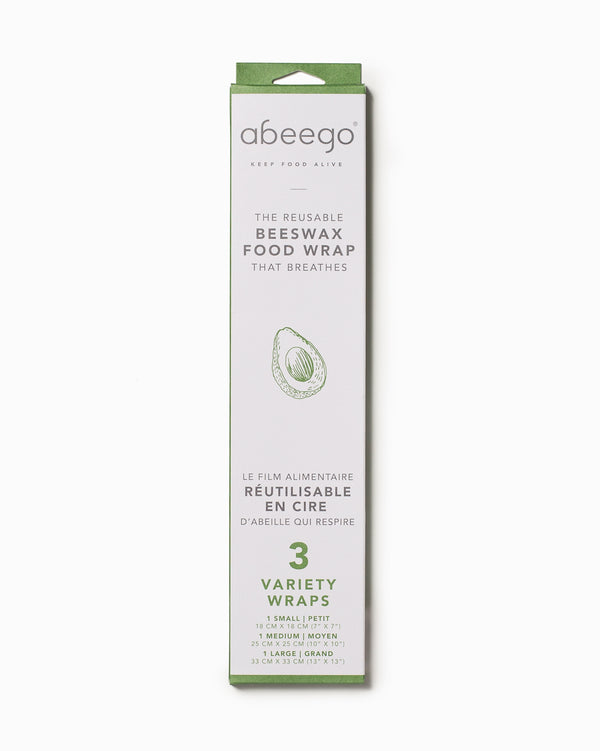 Abeego Variety Wrap 3 Pack