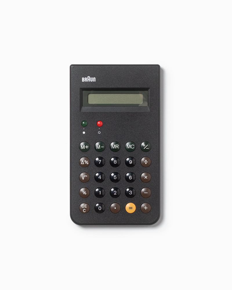 Braun Calculator - Black