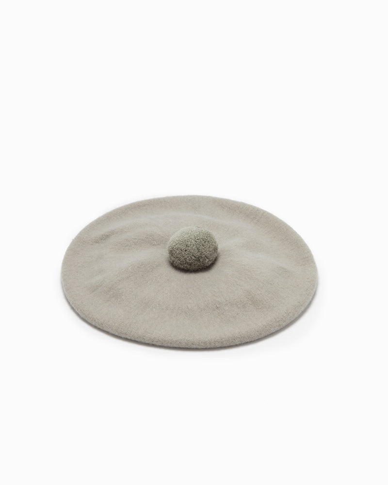 Wool Beret - Fawn