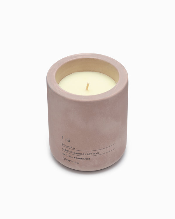 Scented Candle Concrete Votive - Fig