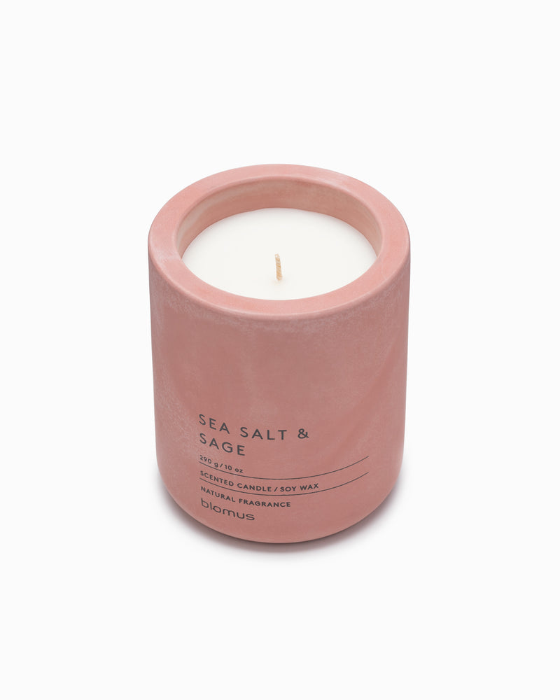 Scented Candle Concrete Votive - Sea Salt