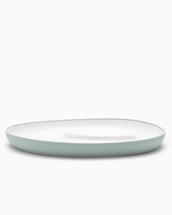 Bonbo Large Plate - Blue Gray