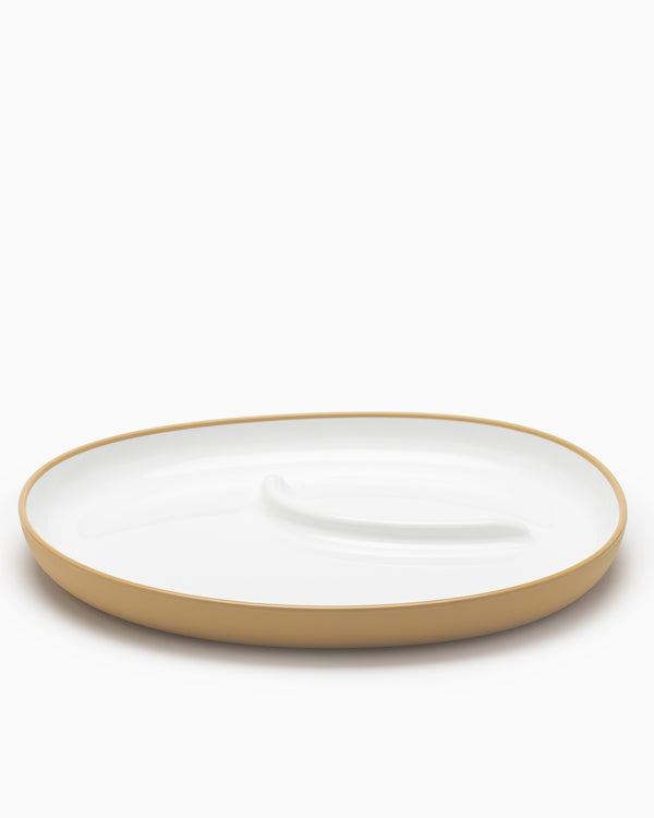 Bonbo Large Plate - Yellow