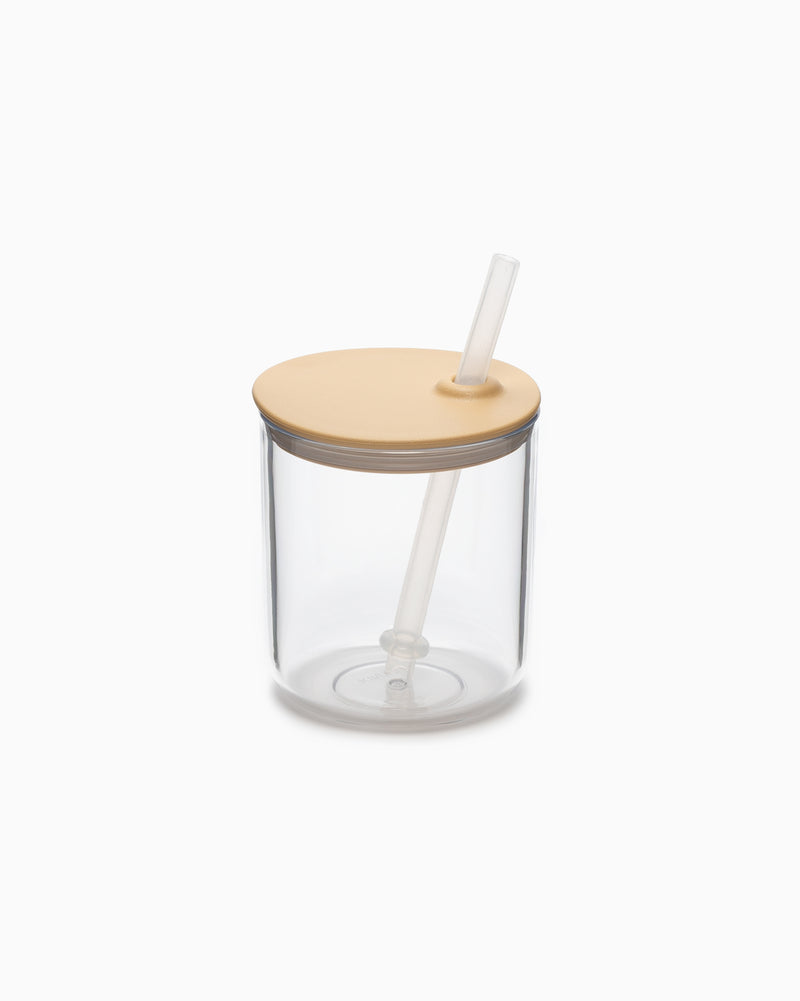 Bonbo Straw Cup - Yellow
